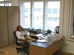 Thumb: Business woman voyeur ...