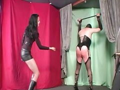 Yobt - Punishing domme whipping