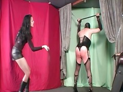 Punishing domme whipping preview