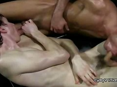 threesome, gay, anal, ass,