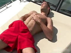 solo, masturbation, hunk, outdoor,