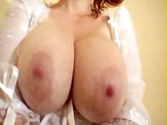Tits full of milk