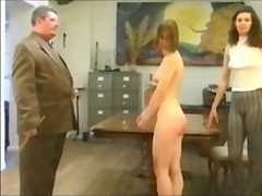 The english beauty of spanking