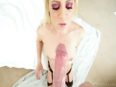 Ball sucking blonde cameron canada is