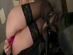 dildo, anal, stockings, fetish, ass,
