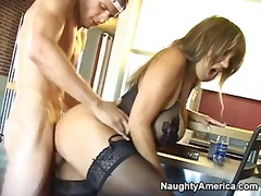 PornSharia Movie:Nasty and hot wild blonde ava