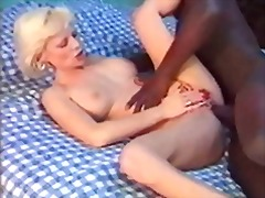 interracial, french, mature, blonde, anal