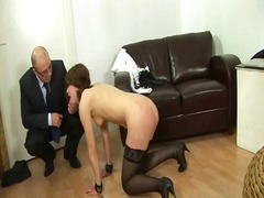 secretary, punishment, spanking