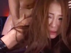 Asian girl in sexy sto...