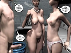 See: 3d comic breaking up i...