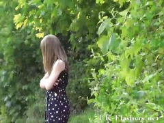 Teen public nudity and... video