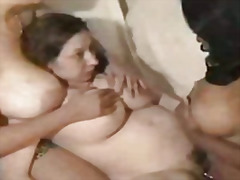 Big tit threesome  video