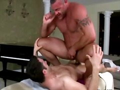 gay, anal, tattoo, massage, ass,