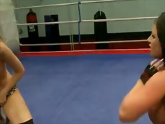 Kerry louise wrestles with... - 07:01