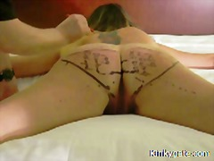 AlotPorn Movie:Total control over my bound su...