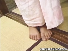 See: Japanese babe tied wit...