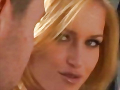 Gorgeous blonde babe p... video