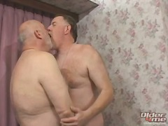 Mature gay bears ass f...