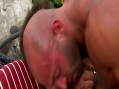 cumshot, outdoors, hunk, bbw