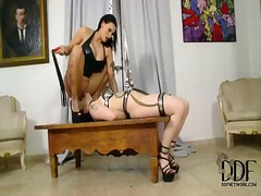 Femdom lesbo fun between isla and