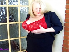 Thumb: Huge titted mature in ...