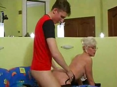 Silver hair mature wit... video