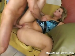 Alpha Porno Movie:Hot blonde alexis banging her ...