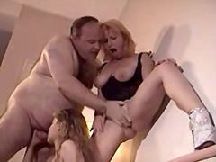 See: Mature couple and a yo...