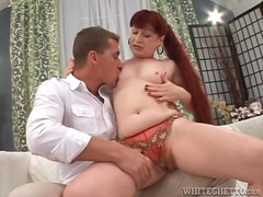 Mature redhead with ha... preview