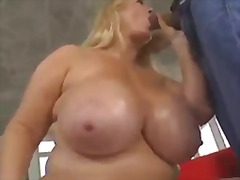boobs, blonde, bbw, big boobs,