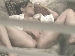Private Home Clips - Lucky Fellow Spying He...