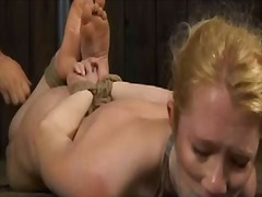 Thumb: Titty torture for naug...