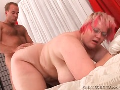 bbw, doggystyle, facial