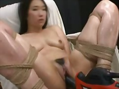 Sun Porno Movie:Hot asian girl bound and fucke...