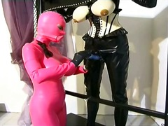 Awesome domina making up a... - 05:10