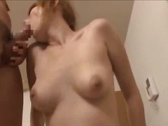 tits, sucking, big, blowjob, asian