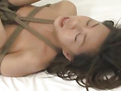 Japanese babe tied and... video