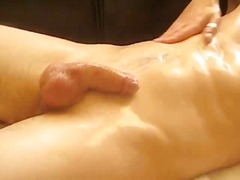 Oiled dick non-stop st...