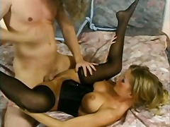 stockings, anal, stocking, blonde,