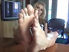 Xhamster - Blonde feet joi