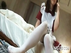 Asian maid giving her ... video