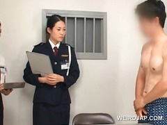 Asian police woman toy... video