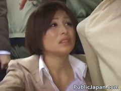 Oriental babe has publ... video