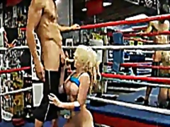 Madison Ivy fuck in the ring