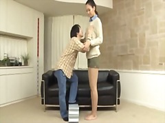 A long tall girl and a... video