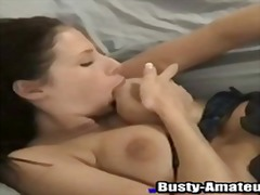 Gianna is a horny brunette... - 06:00