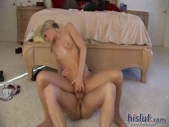 doggy, pussy, blonde, shaved,