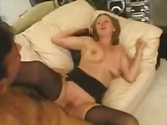 Retro busty gal having sex by samx1x