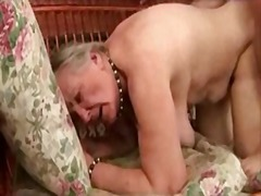 Ancient granny loves s... video