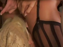 Papa-sexy threesome in... video